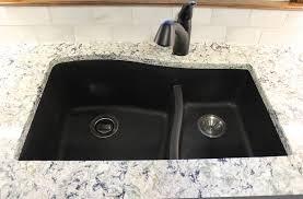 Swanstone Kitchen Sink Reviews by Swanstone Nero Quartz Sink Backsplashes Pinterest Sinks