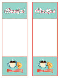 menu template consort display podia template breakfast menu