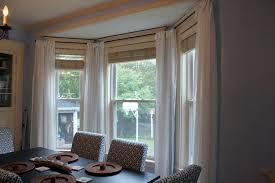 kitchen bay window treatment ideas curtains images of bay window curtains decor kitchen bay window