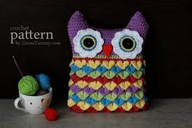 Crochet Owl Rug Happy Crochet Rug Pattern No 030 Zoom Yummy U2013 Crochet Food