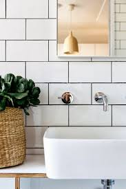 to da loos white subway tiles with dark grout do we like it