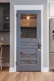 Old Farmhouse Kitchen Cabinets Rustic Farmhouse Pantry Door Always Wanted A Door In Our House