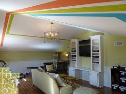 painted ceilings are great for adding a pop of color and drama to