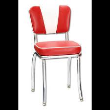 mobilier diner americain chaise de restaurant américain vintage rouge sas brust us planet