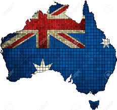 Australian Map Australian Map Grunge Mosaic Map Of Australia Australia Map