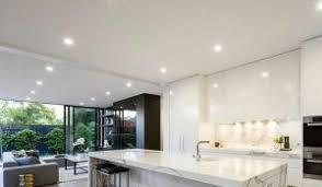 spot led encastrable plafond cuisine 10 exemples d éclairages led encastrés qui subliment la déco