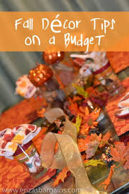 fall décor tips on a budget shopping at family dollar family dollar