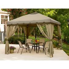 Outdoor Gazebo Curtains Curtains Outdoor Gazebo Canopy 12x12 Patio Tent Curtains Steel