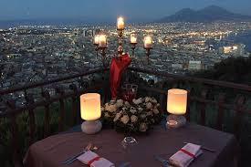 ristorante a lume di candela roma i 7 ristoranti pi禮 romantici di napoli