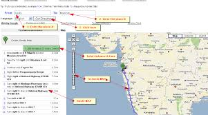 distance between two points map driving distance calculator km road map techinfotech