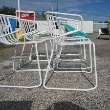 Old Metal Outdoor Furniture by Retro Metal Outdoor Patio Furniture Modern Patio