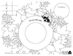 thanksgiving placemats printable thanksgiving placemats to color