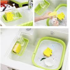 kitchen sink apple sponge holder slope for kitchen sink drain