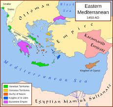 Ottoman Empire Borders The Fall Of Constantinople Western Civilization