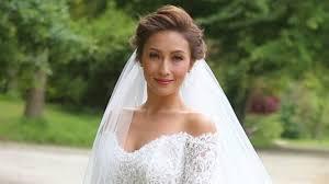 Marriage Dress For Bride In Photos Solenn Heussaff U0027s Beautiful Wedding Dress