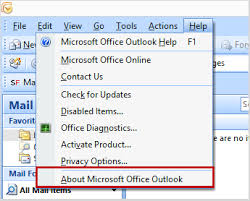 Microsoft Office Outlook Help Desk How To Find The Version Of Your Outlook And Your Computer S