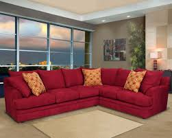 red living room ideas with grey wall and sofa modern delightful on