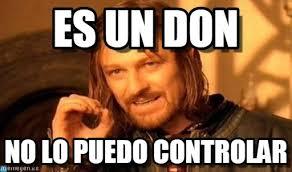 Don Meme - es un don one does not simply meme on memegen