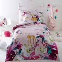 Debenhams Bed Sets Bluezoo White Prancing Ponies Duvet Cover And Pillow