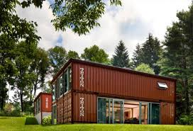 old lady shipping container house is a modern masterpiece home