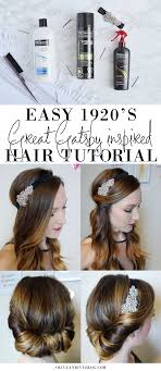 great gatsby hair long easy 1920 s great gatsby hair tutorial olive ivy