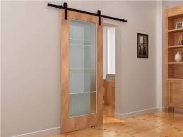 Glass Barn Door by Best Sliding Interior Barn Doors The Door Home Design