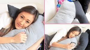 Cuddle Cushion Diy Boyfriend Cuddle Pillow Laurdiy Youtube