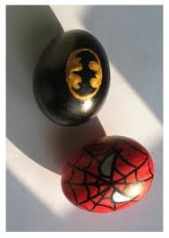 Easter Egg Decorating Batman by Batman Spider Man Easter Eggs Creative Ads And More U2026