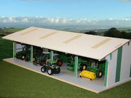toy barn great gift idea for a kid that has lots of tractors