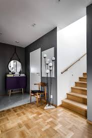 a stylish scandinavian apartment in sleek shades of grey