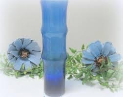 Cobalt Blue Vases Cobalt Blue Vase Etsy