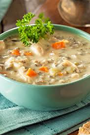 panera bread cream of chicken u0026 wild rice soup copycat kitchme
