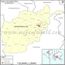 kabul map where is kabul location of kabul in afghanistan map