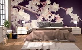 papier peint chambre à coucher papiers peints chambre à coucher mur aux dimensions myloview fr