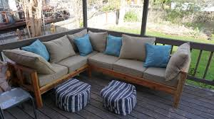 Diy Outdoor Sectional Sofa Ana White Outdoor Sectional Couch Diy Projects