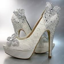 wedding shoes high fashion beading butterfly high heel peep toe wedding shoes