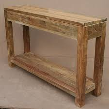 Reclaimed Wood Console Table Furniture Amazing Reclaimed Wood Dresser And Console Table With