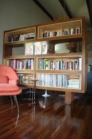 shelf room divider custom made mondo bookshelf room divider by jason paradis