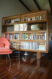 bookshelf room divider custom made mondo bookshelf room divider by jason paradis