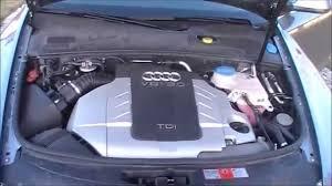 audi a6 3 0 tdi engine audi a6 3 0 tdi v6 quattro engine start sound and operation