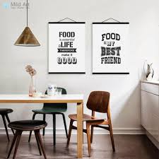 black and white kitchen framed pictures black white food family quotes wooden framed posters