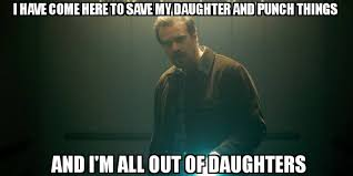 Memes About Daughters - stranger things meme all out of daughters on bingememe
