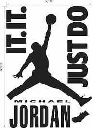 hot sale home decorationhot caved michael jordan nba basketall nba basketall player wall stickers quotes wall decals 20