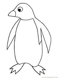 penguin 1 coloring page free penguin coloring pages