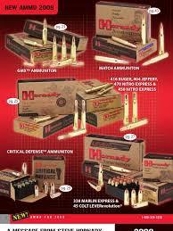 2009 hornady catalog caliber bullet