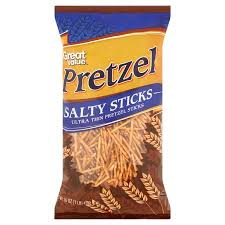 where to buy pretzel rods great value ultra thin salty pretzel sticks 16 oz walmart