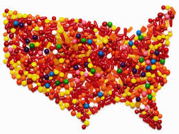 halloween kiss candy america u0027s favorite halloween candy broken down by state food u0026 wine