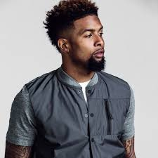 odell beckham jr haircut name 5 nfl players with the best hairstyles 2017