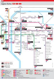 Maryland Metro Map by Official Map Transports En Commun Lyonnais System Transit Maps