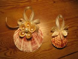 christmas decorations made from shells diy christmas ornaments